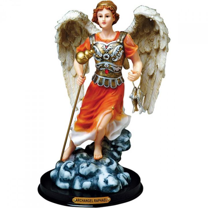 St Raphael Archangel Statue: Priere A Archange Saint RAPHAEL (protection Et GUERISON